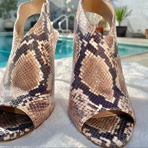 Jessica Simpson Snake Print Heel size 7 - Jourie 2